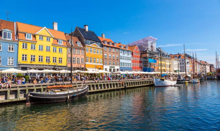 københavn og nyhavns gader